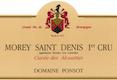 Domaine Ponsot Morey-Saint-Denis Premier Cru Cuvée des Alouettes - label