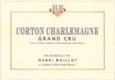 Maison Henri Boillot Corton-Charlemagne Grand Cru  - label