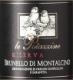 Tenuta Le Potazzine Brunello di Montalcino  Riserva - label