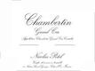 Maison Nicolas Potel Chambertin Grand Cru  - label