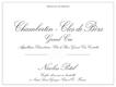 Maison Nicolas Potel Chambertin Clos de Bèze Grand Cru  - label