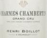 Maison Henri Boillot Charmes-Chambertin Grand Cru  - label