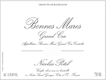 Maison Nicolas Potel Bonnes-Mares Grand Cru  - label