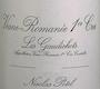 Maison Nicolas Potel Vosne-Romanée Premier Cru Les Gaudichots - label