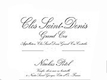 Maison Nicolas Potel Clos Saint-Denis Grand Cru  - label