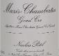 Maison Nicolas Potel Mazis-Chambertin Grand Cru  - label