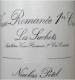 Maison Nicolas Potel Vosne-Romanée Premier Cru Les Suchots - label