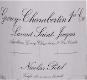 Maison Nicolas Potel Gevrey-Chambertin Premier Cru Lavaux Saint-Jacques - label