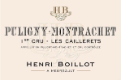 Maison Henri Boillot Puligny-Montrachet Premier Cru Le Cailleret - label