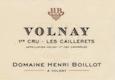 Domaine Henri (ex Jean) Boillot Volnay Premier Cru Les Caillerets - label