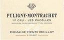 Domaine Henri (ex Jean) Boillot Puligny-Montrachet Premier Cru Les Pucelles - label