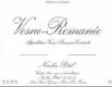 Maison Nicolas Potel Vosne-Romanée  - label