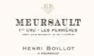 Maison Henri Boillot Meursault Premier Cru Perrières - label