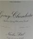 Maison Nicolas Potel Gevrey-Chambertin  - label