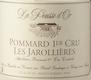 Domaine de la Pousse d'Or Pommard Premier Cru Les Jarollières - label