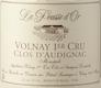 Domaine de la Pousse d'Or Volnay Premier Cru Clos de l'Audignac - label
