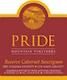 Pride Mountain Vineyards Reserve Cabernet Sauvignon - label