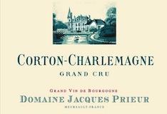 Domaine Jacques Prieur Corton-Charlemagne Grand Cru  - label