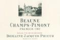 Domaine Jacques Prieur Beaune Premier Cru Champs-Pimont - label