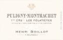 Maison Henri Boillot Puligny-Montrachet Premier Cru Les Folatières - label