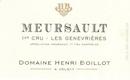 Domaine Henri (ex Jean) Boillot Meursault Premier Cru Genevrières - label