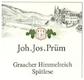 Joh. Jos. Prüm Graacher Himmelreich Riesling Spätlese - label