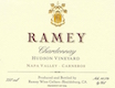 Ramey Wine Cellars Hudson Vineyard Chardonnay - label