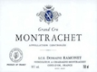 Domaine Ramonet Montrachet Grand Cru  - label
