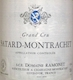 Domaine Ramonet Bâtard-Montrachet Grand Cru  - label