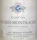 Domaine Ramonet Bâtard-Montrachet Grand Cru  - label