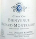 Domaine Ramonet Bienvenues-Bâtard-Montrachet Grand Cru  - label