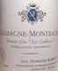 Domaine Ramonet Chassagne-Montrachet Premier Cru Les Caillerets - label