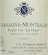 Domaine Ramonet Chassagne-Montrachet Premier Cru Les Vergers - label