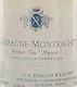 Domaine Ramonet Chassagne-Montrachet Premier Cru Morgeot - label