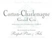 Domaine Rapet Père et Fils Corton-Charlemagne Grand Cru  - label