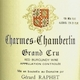 Domaine Gérard (formerly Jean) Raphet Charmes-Chambertin Grand Cru  - label