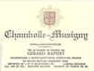Domaine Gérard (formerly Jean) Raphet Chambolle-Musigny  - label