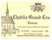 Domaine Raveneau Chablis Grand Cru Valmur - label