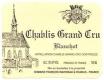 Domaine Raveneau Chablis Grand Cru Blanchot - label