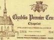 Domaine Raveneau Chablis Premier Cru Chapelot - label