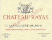 Château Rayas Châteauneuf-du-Pape  - label