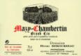 Domaine Henri Rebourseau Mazis-Chambertin Grand Cru  - label