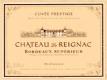 Château de Reignac  - label