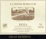 Remelluri Rioja  Gran Reserva - label
