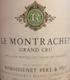 Remoissenet Père et Fils Montrachet Grand Cru  - label