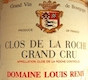 Domaine Chantal Rémy (ex Louis Rémy) Clos de la Roche Grand Cru  - label