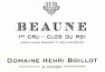 Domaine Henri (ex Jean) Boillot Beaune Premier Cru Clos du Roi - label