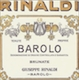 Giuseppe Rinaldi Barolo Brunate (formerly Brunate Le Coste) - label