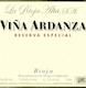 La Rioja Alta Rioja Viña Ardanza Reserva - label