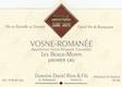 Domaine Daniel Rion et Fils Vosne-Romanée Premier Cru Les Beaux Monts - label